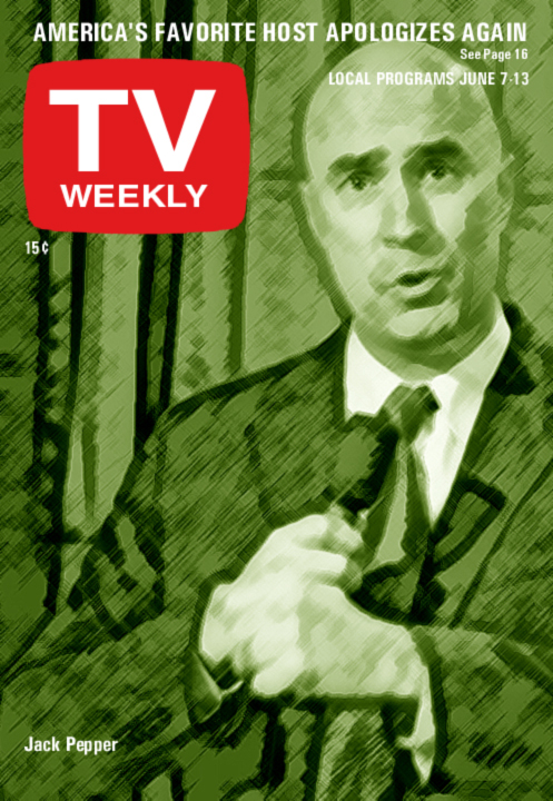 Jack Pepper, TV Weekly